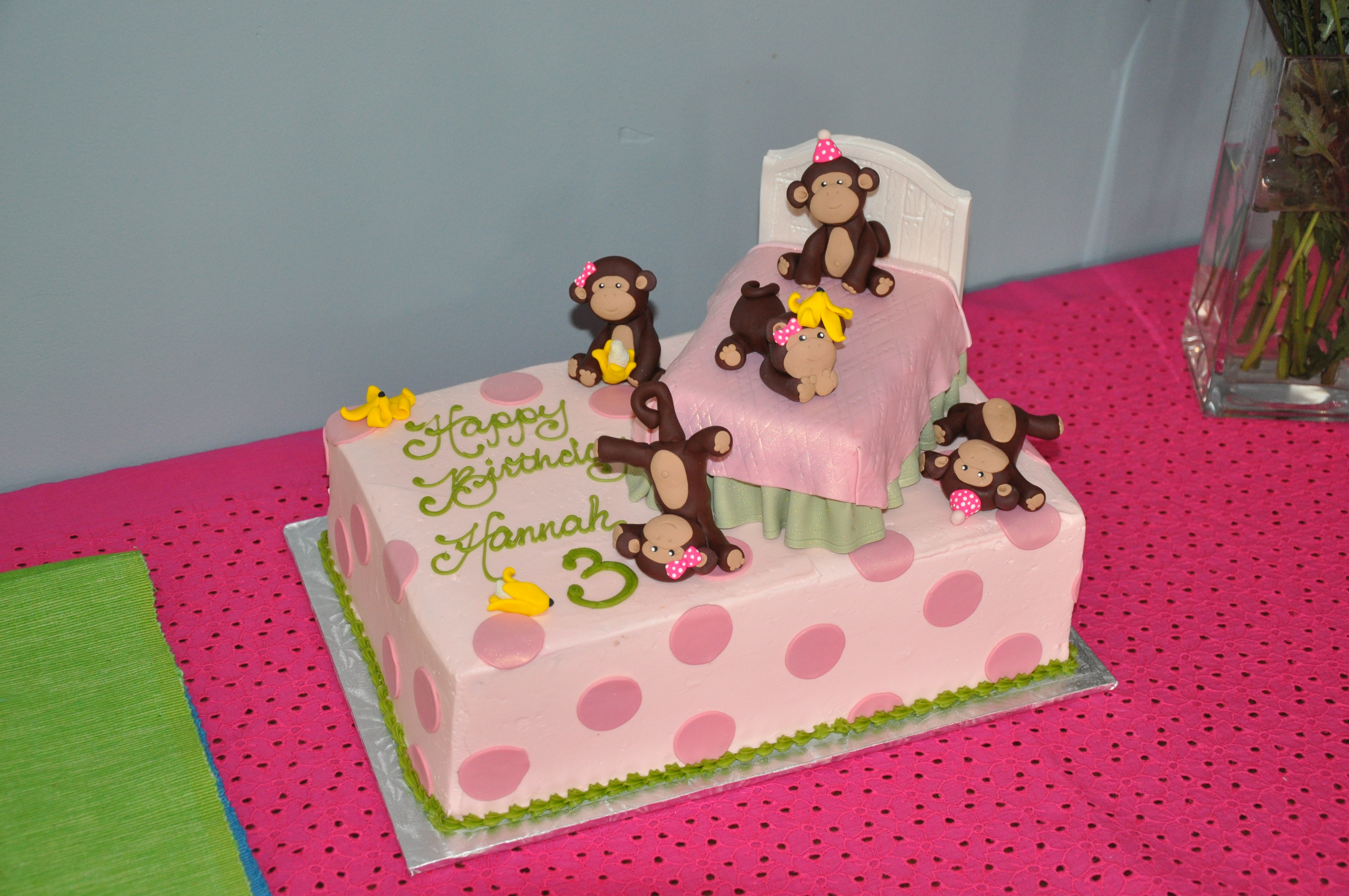 5 little monkeys jumping on the bed rhyme gallery image and happy 3rd birthday hannah amipublicfo Image collections